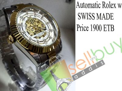 Automatic Rolex watch