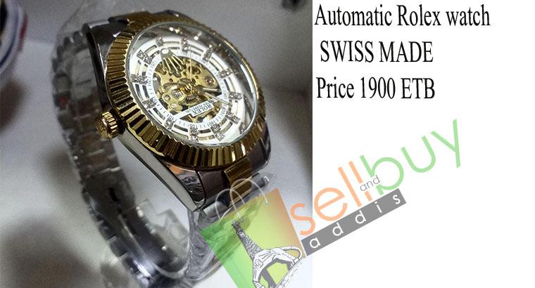 Automatic Rolex watch